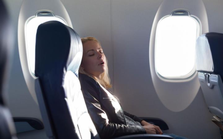 How to Sleep Better on a Long Flight