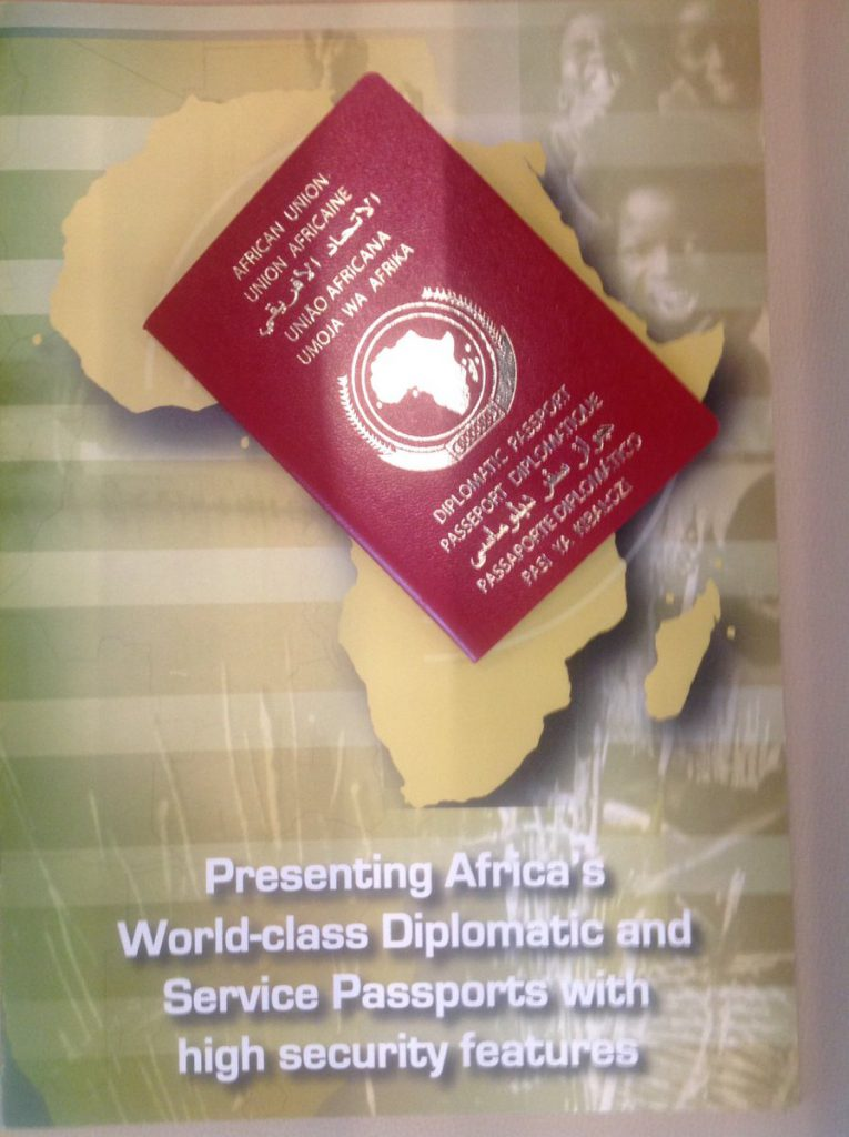 AU issues African Passport