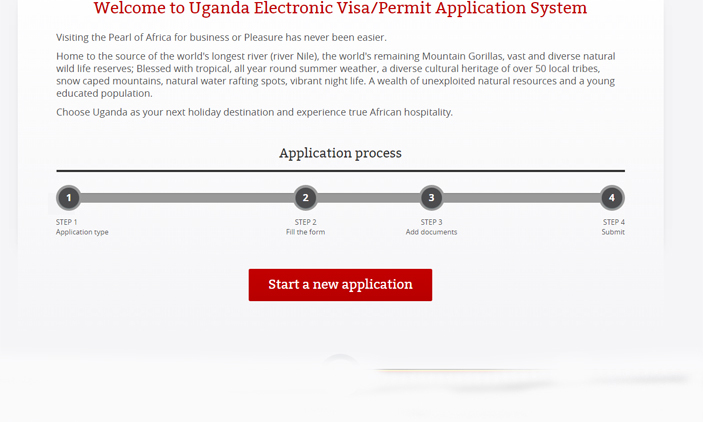 Uganda Online Visa Applications