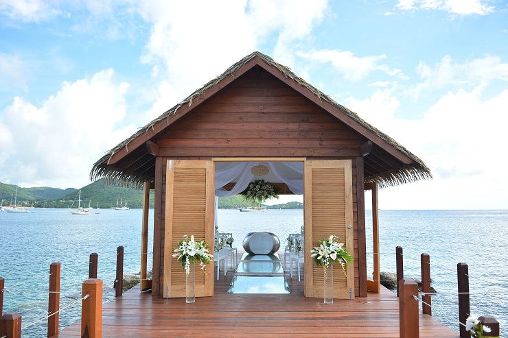 Sandals Resorts unveils Overwater Serenity Wedding Chapel in St Lucia