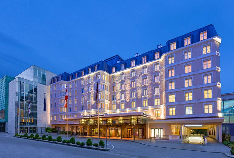 Sheraton grand salzburg debuts in austria worldtraveland for Design hotel salzburg