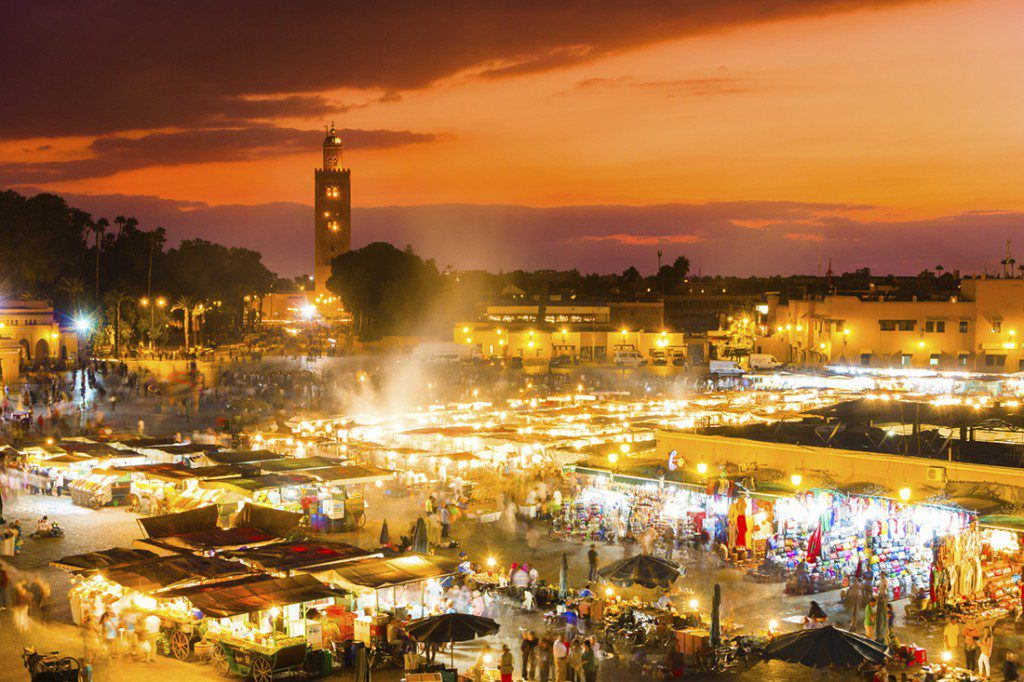 Marrakech First Time Visitor Guide – Djemaa-El-Fnaa, Marraech Marets at Night