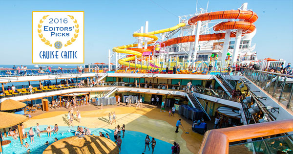 2016 Cruise Critic Editors' Picks Awards: Carnival Vista crowned Best New Ship
