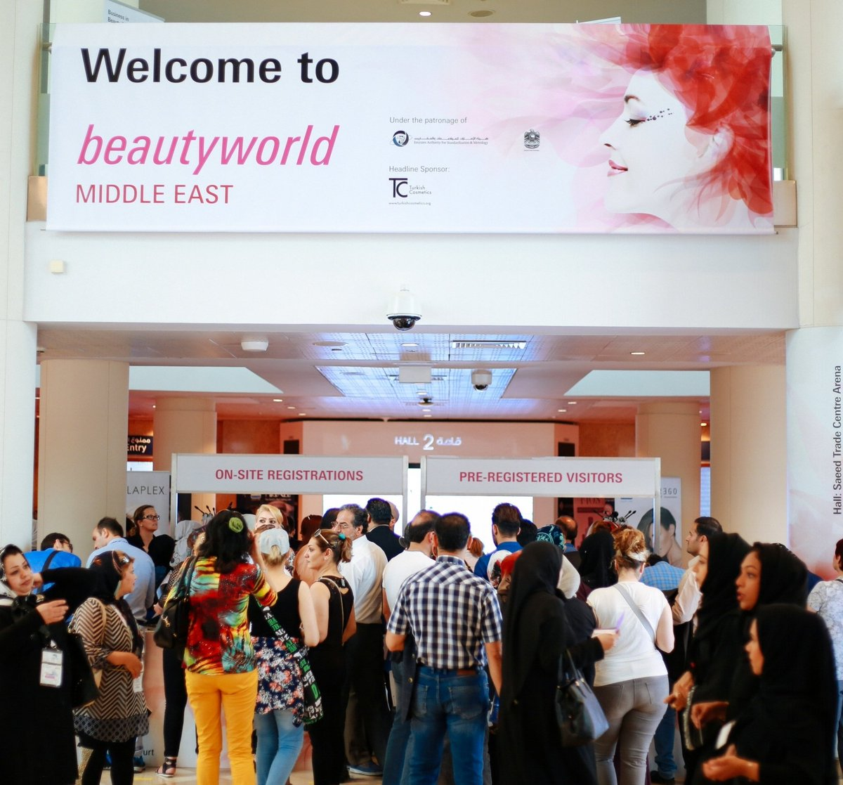 Event: BeautyWorld Middle East 2017 – A Celebration Of Beauty