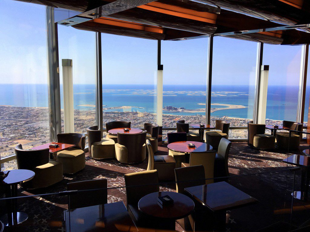 Atmosphere Burj Khalifa - Top Summer Dining Experiences in Dubai For Nigerians