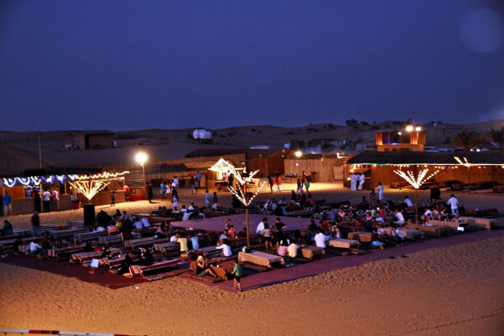 Desert Safari Dinner - Top Summer Dining Experiences in Dubai For Nigerians