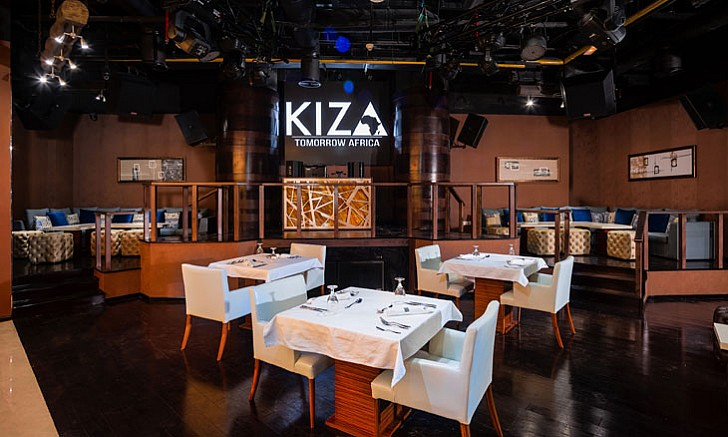 Kiza Restaurant and Lounge Dubai - Top Summer Dining Experiences in Dubai For Nigerians